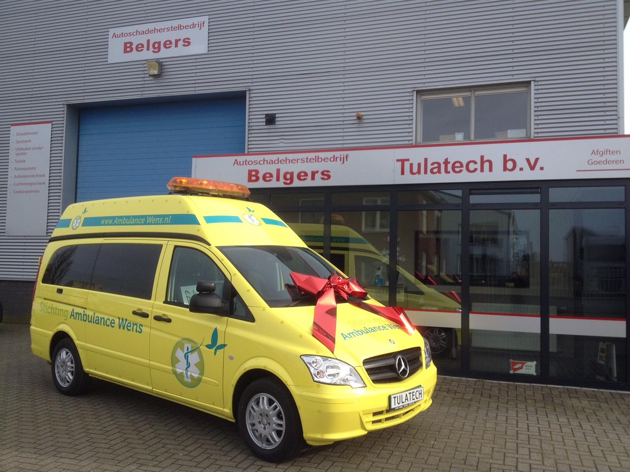 Ambulance Type Bls Voertuigen Tulatech